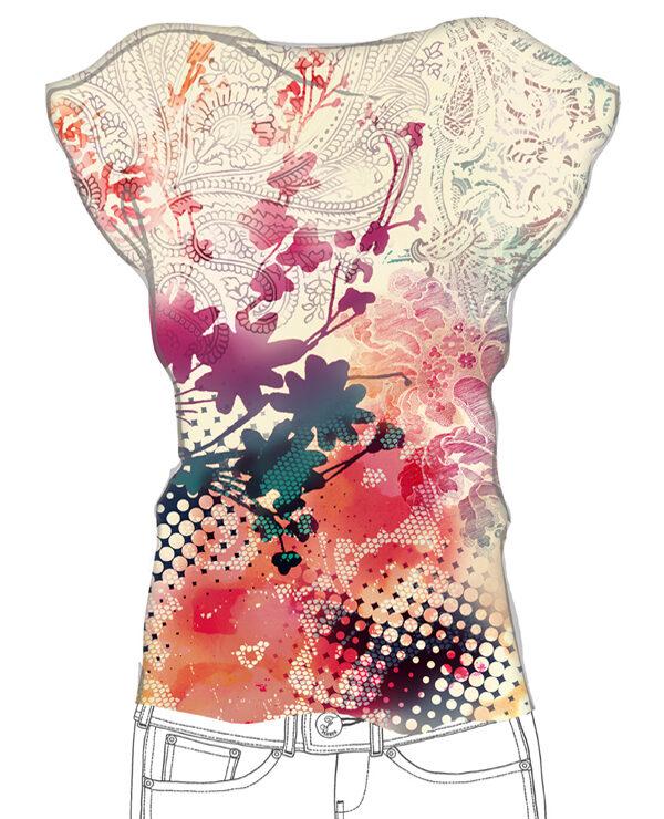 Textildruck-Design