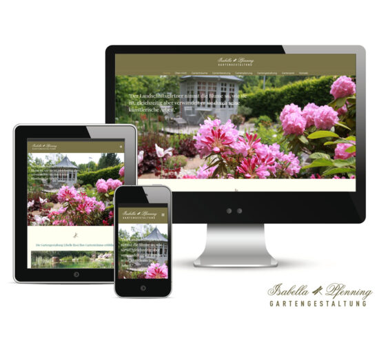Pritz Design Webdesign Gartengestaltung Libelle